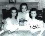 Damien Thomas & Mary & Madeline Collinson - Genuine Signed Autograph 10x8 5797
